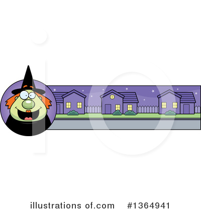 Witch Clipart #1364941 by Cory Thoman
