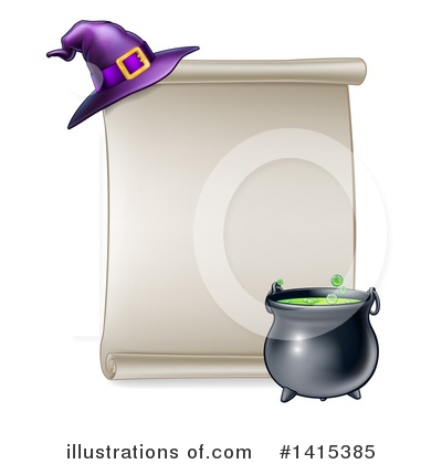 Witch Clipart #1415385 by AtStockIllustration