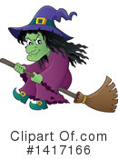 Royalty-Free (RF) Witch Clipart Illustration #1417166