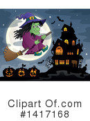 Witch Clipart #1417168 by visekart