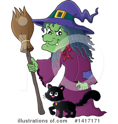 Halloween Clipart #1417171 by visekart
