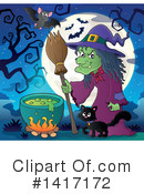 Witch Clipart #1417172 by visekart