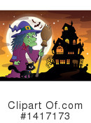 Witch Clipart #1417173 by visekart