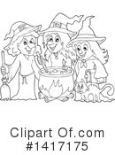 Witch Clipart #1417175 by visekart