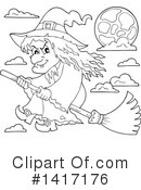 Witch Clipart #1417176 by visekart