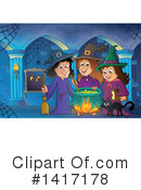 Witch Clipart #1417178 by visekart