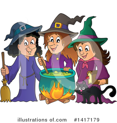 Halloween Clipart #1417179 by visekart