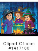 Witch Clipart #1417180 by visekart