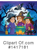 Witch Clipart #1417181 by visekart