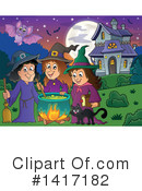 Witch Clipart #1417182 by visekart