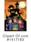 Witch Clipart #1417183 by visekart