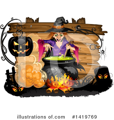 Witch Clipart #1419769 by merlinul