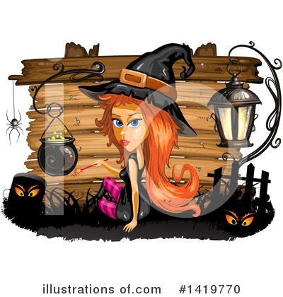 Witch Clipart #1419770 by merlinul