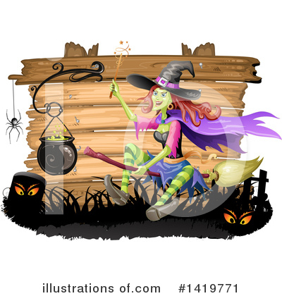 Witch Clipart #1419771 by merlinul