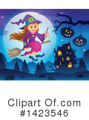 Witch Clipart #1423546 by visekart