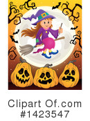Witch Clipart #1423547 by visekart