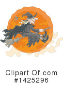 Royalty-Free (RF) Witch Clipart Illustration #1425296