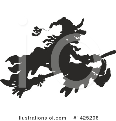 Witch Clipart #1425298 by Alex Bannykh