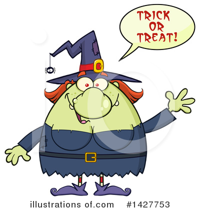 Witch Clipart #1427753 by Hit Toon