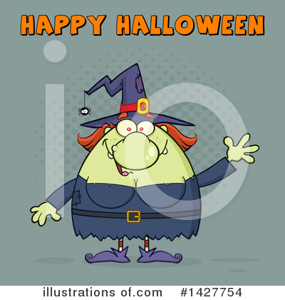 Witch Clipart #1427754 by Hit Toon