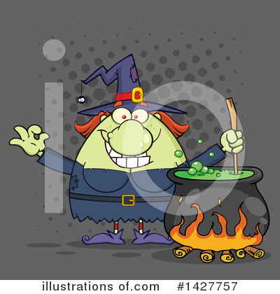 Witch Clipart #1427757 by Hit Toon