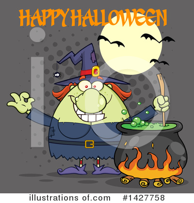 Witch Clipart #1427758 by Hit Toon