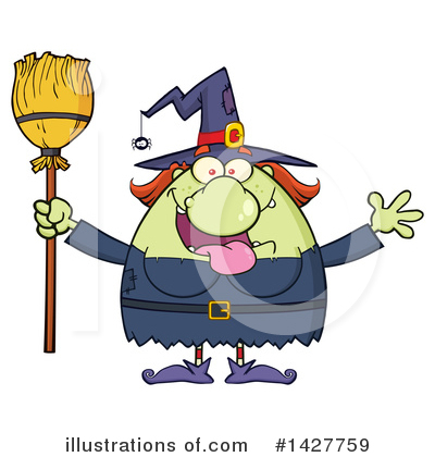 Witch Clipart #1427759 by Hit Toon