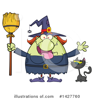Witch Clipart #1427760 by Hit Toon