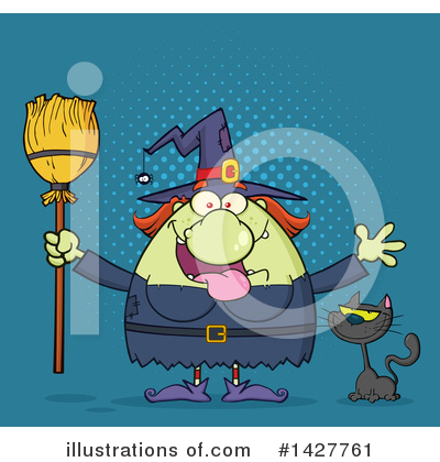 Witch Clipart #1427761 by Hit Toon