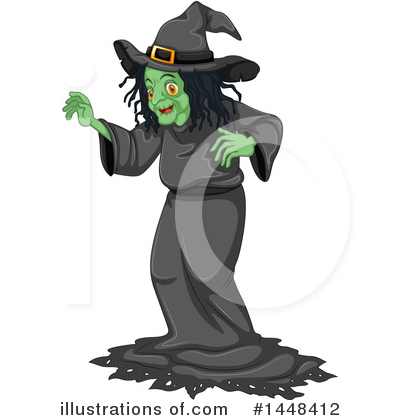Witch Clipart #1448412 by Graphics RF