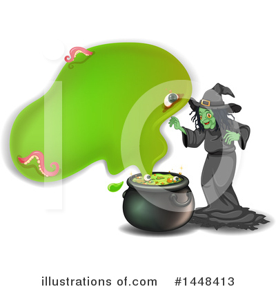 Witch Clipart #1448413 by Graphics RF
