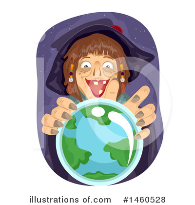 Royalty-Free (RF) Witch Clipart Illustration by BNP Design Studio - Stock Sample #1460528