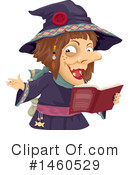 Witch Clipart #1460529 by BNP Design Studio