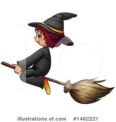 Witch Clipart #1462221 by Graphics RF
