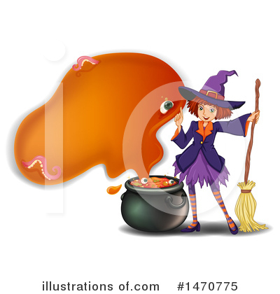 Witch Clipart #1470775 by Graphics RF