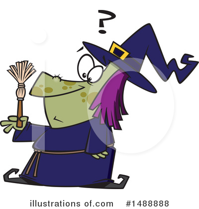 Witch Clipart #1488888 by toonaday