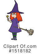 Royalty-Free (RF) Witch Clipart Illustration #1518182