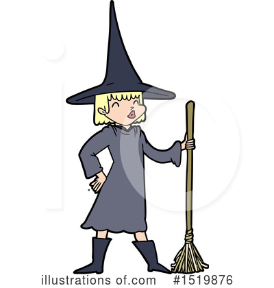 Witch Clipart #1519876 by lineartestpilot