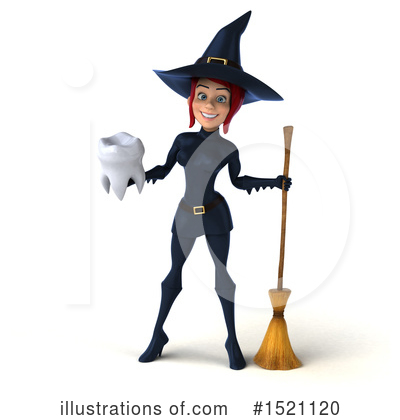 Blue Witch Clipart #1521120 by Julos