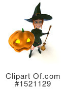 Witch Clipart #1521129 by Julos