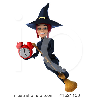 Blue Witch Clipart #1521136 by Julos