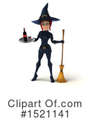 Witch Clipart #1521141 by Julos
