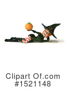 Witch Clipart #1521148 by Julos