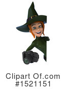 Witch Clipart #1521151 by Julos