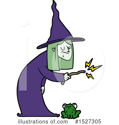 Royalty-Free (RF) Witch Clipart Illustration by lineartestpilot - Stock Sample #1527305