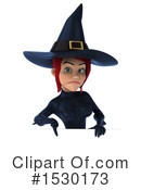 Witch Clipart #1530173 by Julos