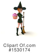 Witch Clipart #1530174 by Julos