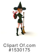 Witch Clipart #1530175 by Julos