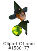 Witch Clipart #1530177 by Julos
