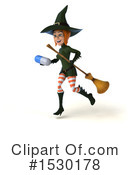 Witch Clipart #1530178 by Julos